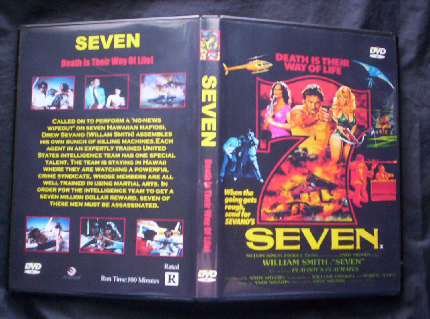 SEVEN DVD 1979 William Smith