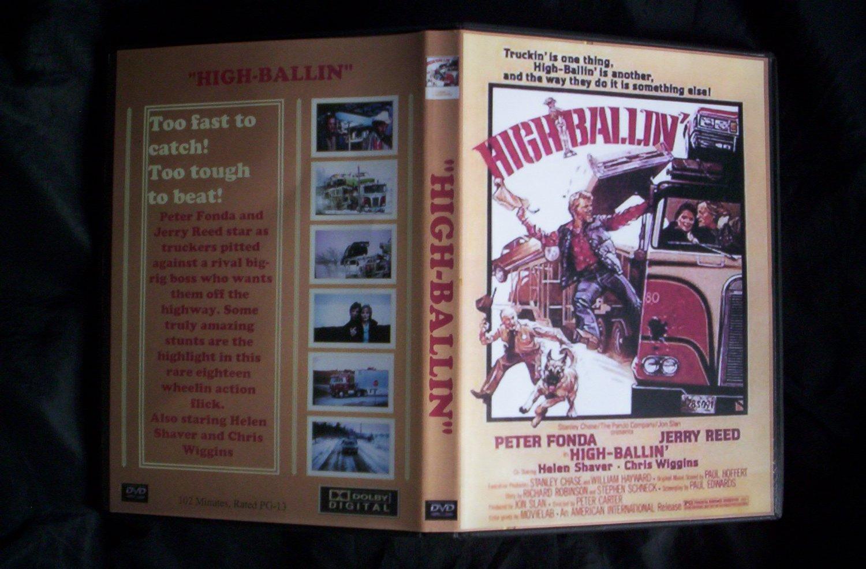 High-Ballin DVD 1978 Peter Fonda Jerry Reed