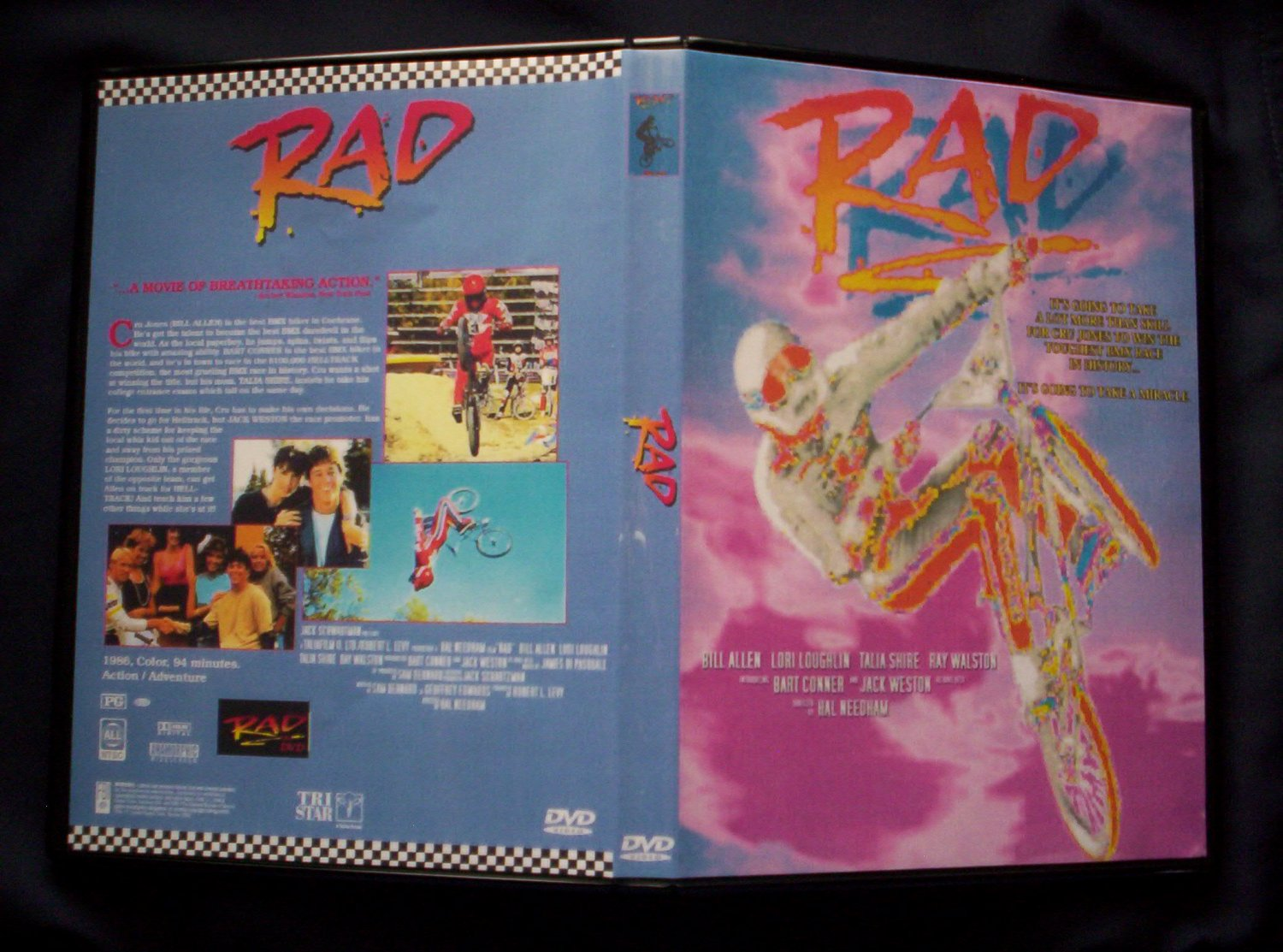 RAD DVD 1986 BMX Racing