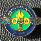 Air Scouts of Egypt Official Metal Pin with Wings & Fleur de Lis Arabic (Small)