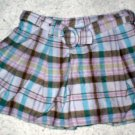Girls SchoolGirl Plaid Skirt 4T