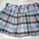 Girls SchoolGirl Plaid Skirt 4T