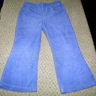 Girls Purple Flared Fleece Pants 4T
