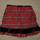 Girls Red Plaid Skirt The Childrens Place 4T