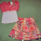 Girls Size 4 Shrug and Skirt Set