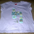 Girls Joy Love Peace Happiness Shirt Size 4 5