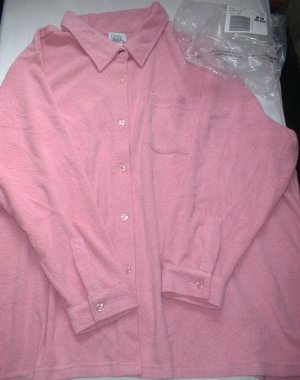 Plus Size Lane Bryant Woman Within Pink Tunic NEW 5X