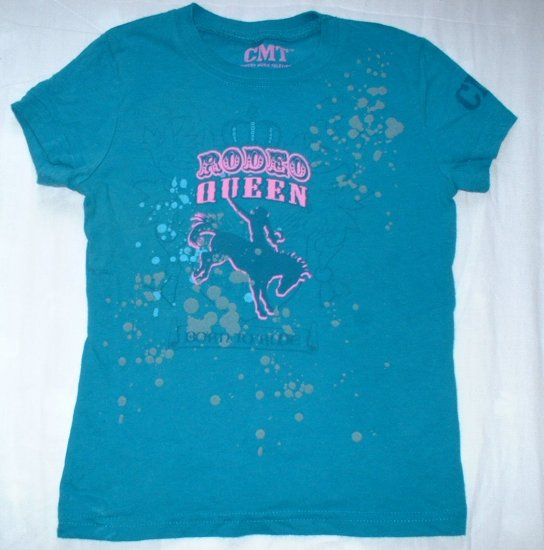 Girls Size 4 CMT Rodeo Queen Shirt