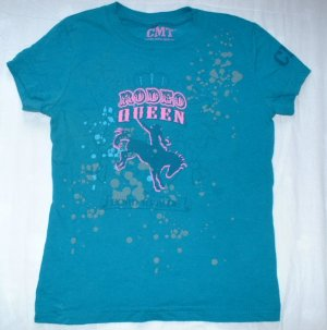 Girls Size 4 CMT Rodeo Queen Shirt