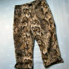 Girls Animal Print Capris Size 5