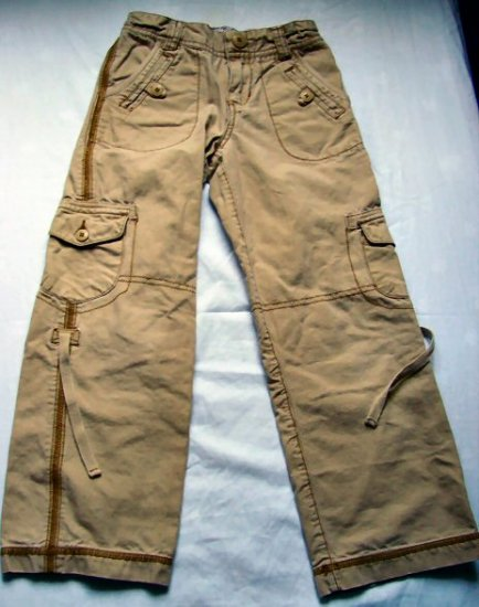 Girls Mossimo Convertible Pants Capris Size 6X