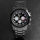 The men's fashion calendar waterproof strip Wristwatches