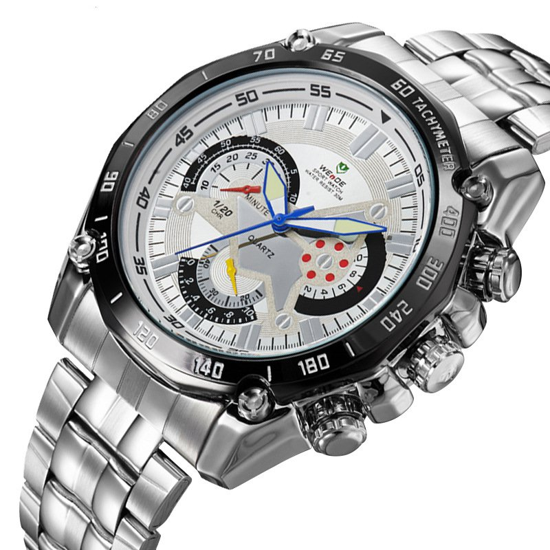 Fashion watch waterproof sports business men's Watch