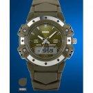 Luxury Brand Sports Quartz Watch Dual Time Digital AnalogMen Women Fashion Wristwatches