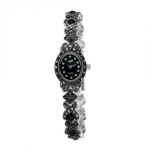 BlackFashion Elegant Business Women Watches  Lady's Bracelet Quartz Watch Luxury Wrist Watches Gift