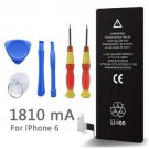 Phone Battery For iphone 6 Real Capacity 1810mAh With Machine Tools