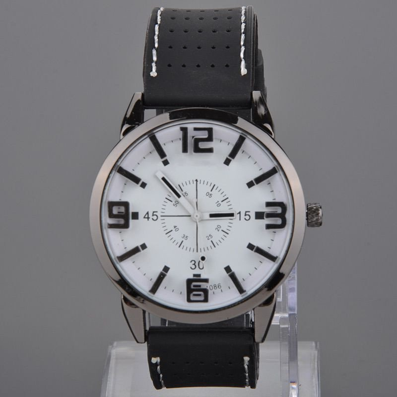 NEW FASHION WOMEN MEN WATCH WHITE