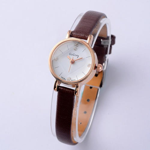 FASHION NEW  WOMEN WATCH  BROWN
