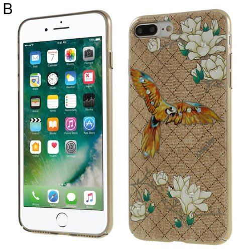 5.5 inch Cover Dreamland Series Plated PC Back Cover for iPhone 7Plus