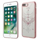 Luxury Bag Graceful Voile Plastic Cover Case for iPhone 7 Plus 5.5 inch