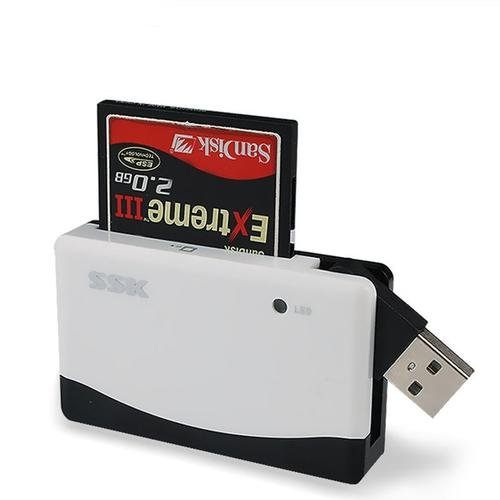 USB 2.0 Multi Memory Card Reader for SD/SDHC/Micro