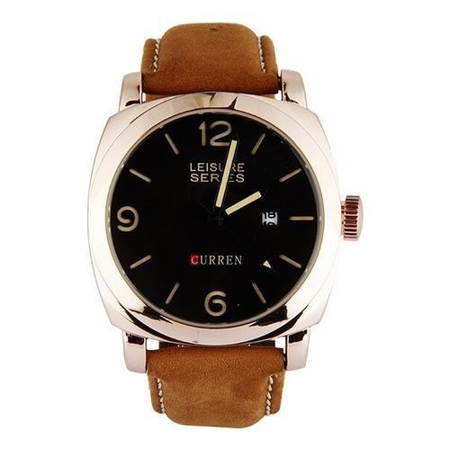Fashion Sports Men's Leather Quartz Watch Wristwatches