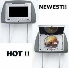 Car Headrest DVD Player - 7 inch TFT - FM Transmitter Audio ( CTV1 )