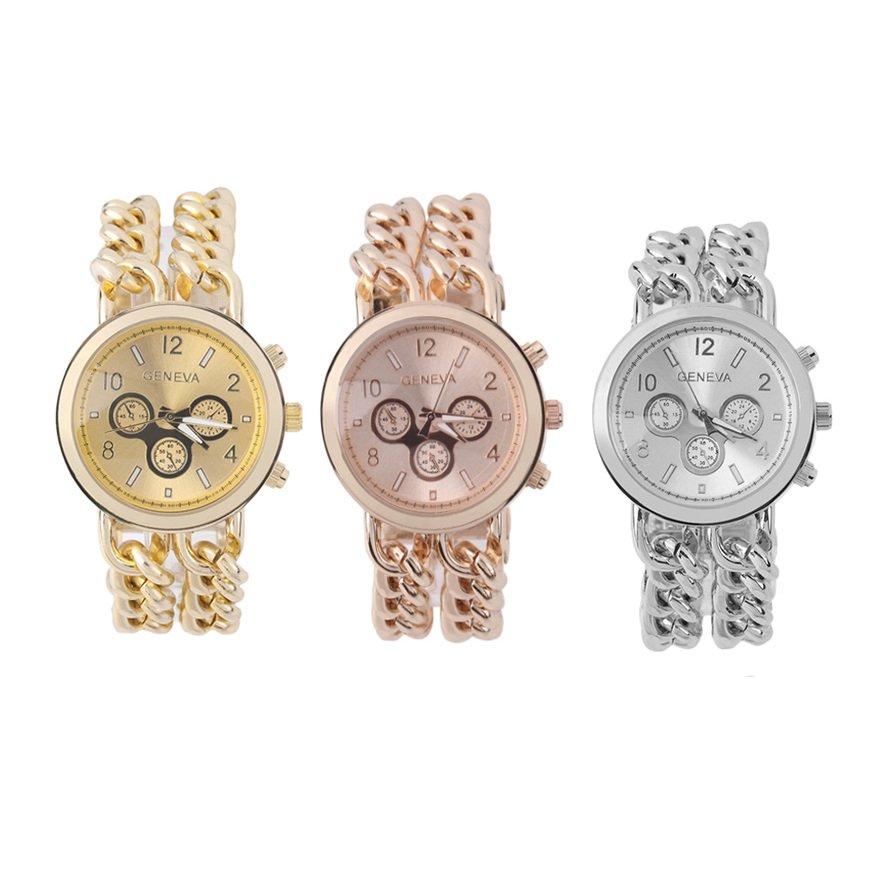 Casual Fashion Women Men Twist Stainless Steel Band Quartz Wrist Watch New FE