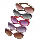 New Women Fashion Retro Vintage Oversized Eyewear Sunglasses Outdoor Glasses FE