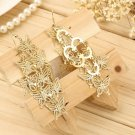 New Fashion Women's Hollow Butterfly Shape Design Hook Dangle Earrings FE