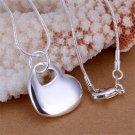 New Fashion Unique Jewelry Heart in Heart Pendant Gift Pendant FE