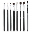 8 pcs Black Handle Professional Eye Shadow Makeup Brushes Set FE