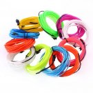 Flexible EL Wire Neon Light 1M/2M/3M/5M for Dance Party Car Decor+Controller FE