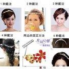 Classic Sparkly Crystal Rhinestone Crown Tiara Wedding Prom Bride's Headband  FE
