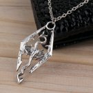 Cool Men's Silver Stainless Steel Vintage Dinosaur Pendant For Necklace FE