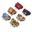Multi-color Owl Design Coin Money Bag Purse Wallet Canvas For Women Girl Lady FE