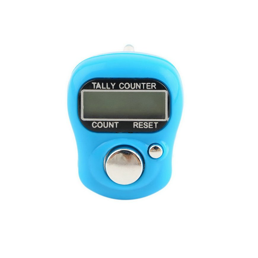 Stitch Marker And Row Finger Counter LCD Electronic Digital Tally Counter
