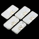 Luxury Wallet Bling Rhinestone Leather Flip Case Cover For Samsung Galaxy FE