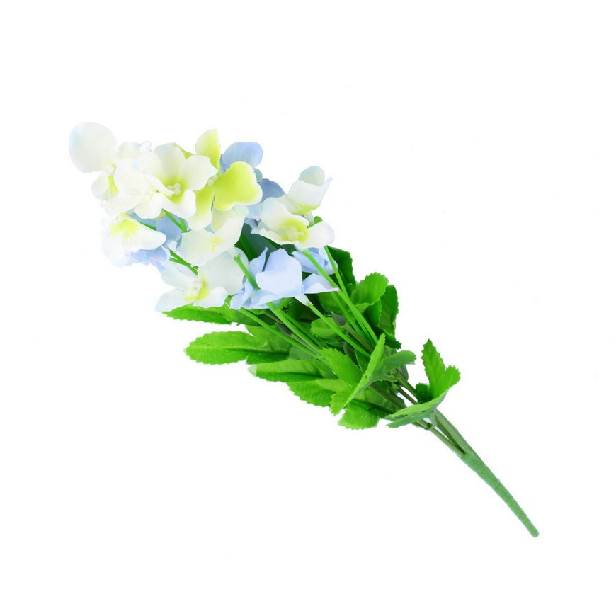 1 Bunch Mini Artificial Moth Orchid Butterfly Flower Bouquet Home Party Decor FE