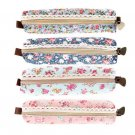 Girls Flower Lace Floral Pencil Case Pen Bag Purse Cosmetic Makeup Pouch Bag FE