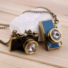 New Cute Sweet Retro Vintage Camera Pendant Jewelry Necklace Sweater Chain FE