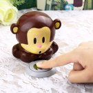 New Cute Monkey Hand Nail Art Tips Polish Dryer Blower Manicure FE