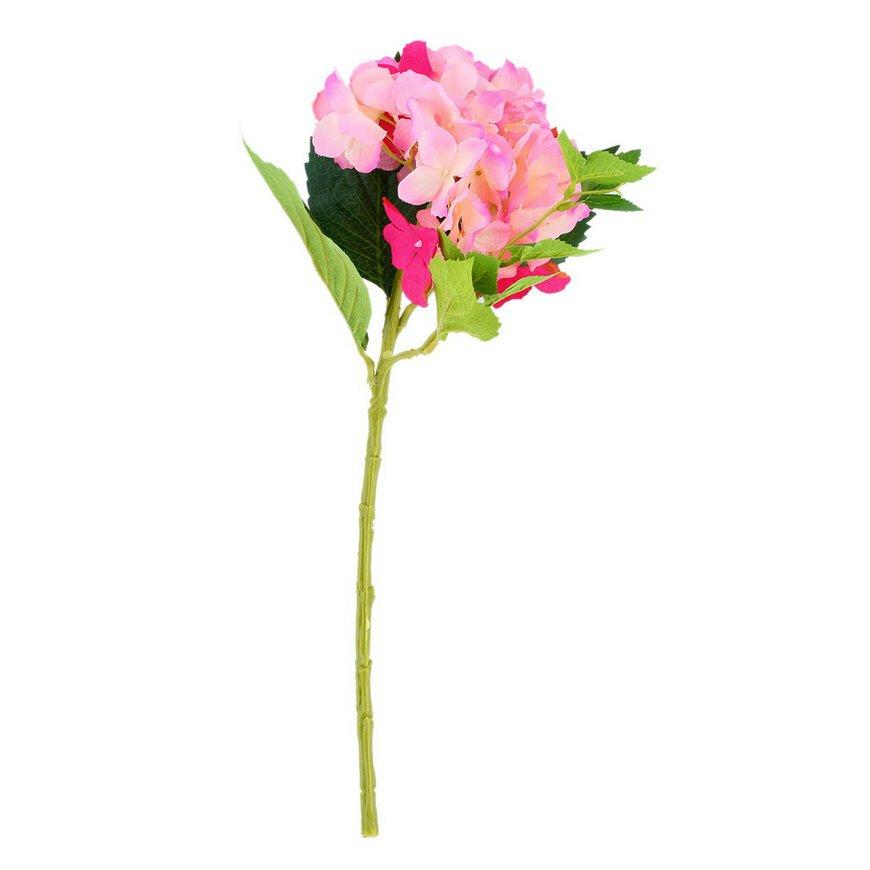1 Head Artificial Craft Hydrangea Bouquet Home Party Wedding Flower Decor FE