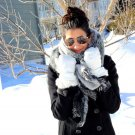Winter Fashionable Warm Thick Soft Artificial Woolen Scarves 200 x 65cm FE