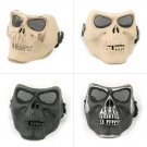 Outdoor Army Riding Cycling Protective Terror Skull Skeleton CS War Face Mask FE
