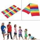 Girls Baby Kids Children Rainbow Colorful Striped Thigh High Warm Leg Socks FE