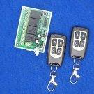 New 12V 4CH 200M Wireless Remote Control Relay Switch Transceiver + Receiver DF