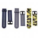Men Women Silicone Rubber Waterproof Watch Band Strap 21cm For Garmin Fenix3 FE