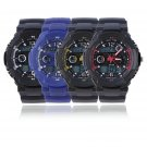 Dual Chips Movement Sports Watch Multifunction Electronic Dual Display Watch FE