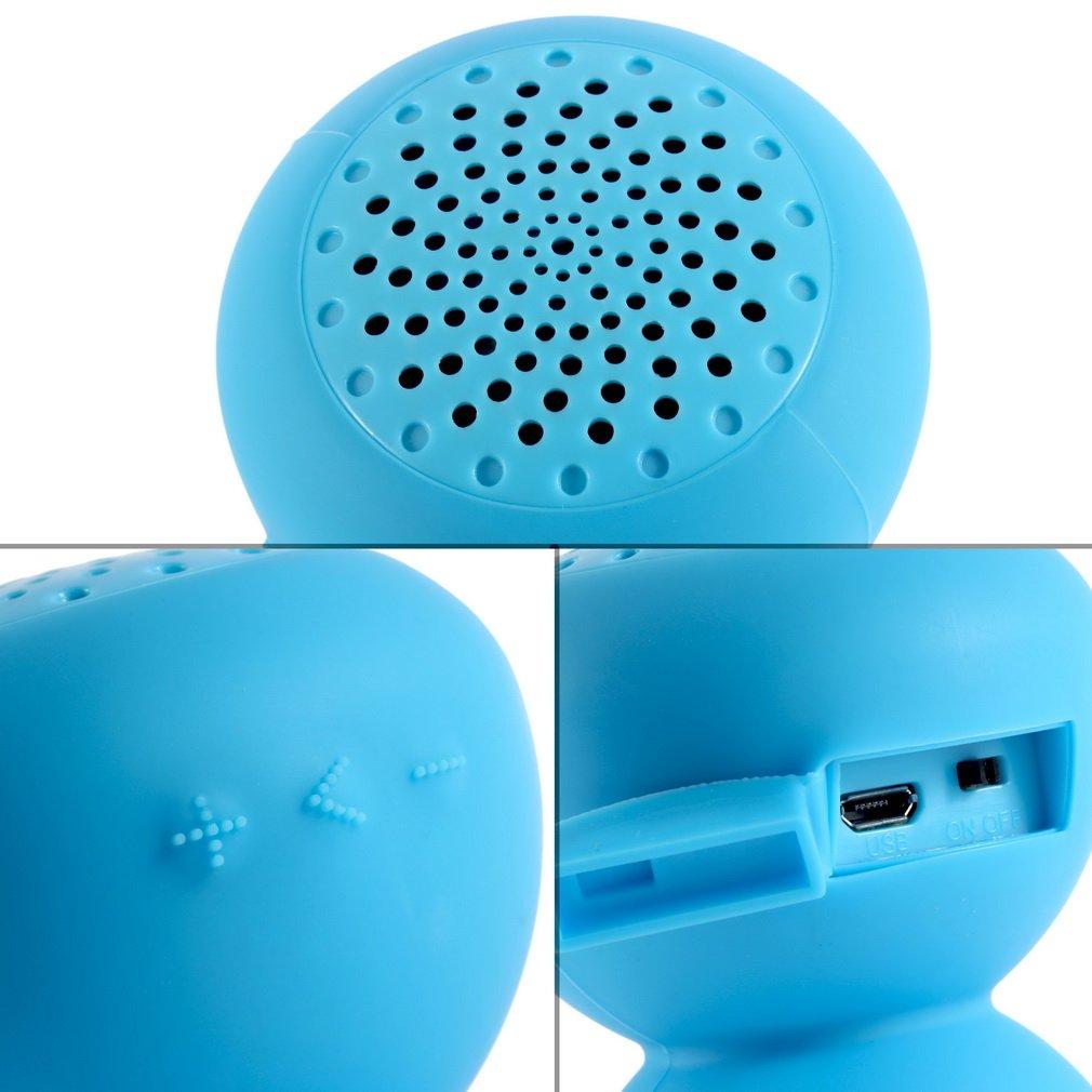 Mini Waterproof Wireless Bluetooth Handsfree Mic Suction Speaker Shower Car mic